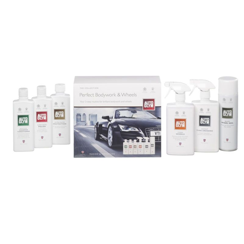 AUTOGLYM PERFECT BODYWORK & WHEELS - THE COLLECTION