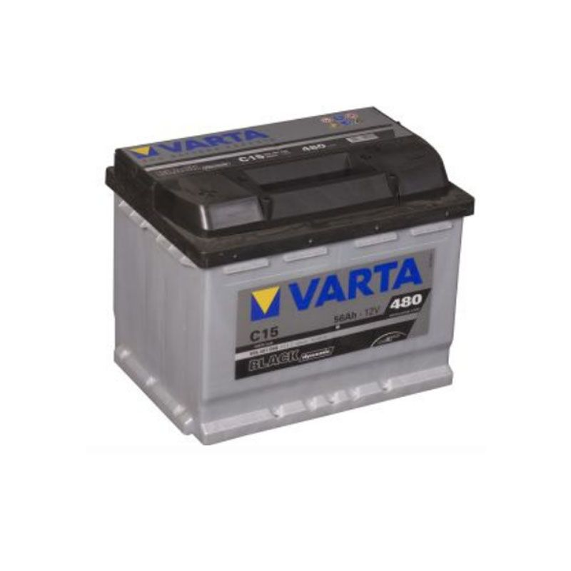 Varta Black Dynamic 12 Volt 56 Ah C15