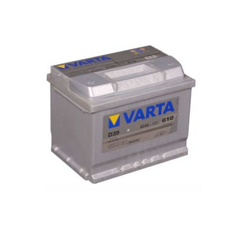 Varta Silver Dynamic 12 Volt 63 AH D39