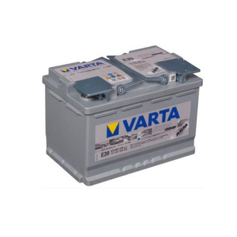 Varta Start-Stop AGM 12 Volt 70 Ah E39