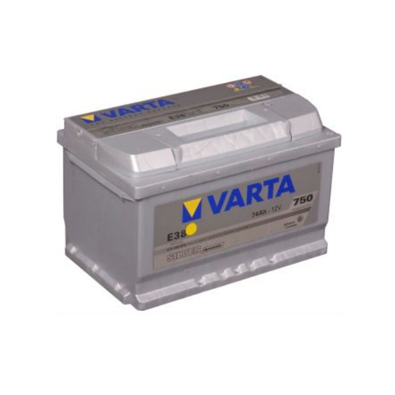 Varta Silver Dynamic 12 Volt 74 AH E38